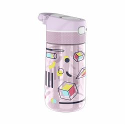 450ml Tritan Kids Water Bottle with Silicone Nozzle